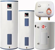 Water Heaters Tankless Water Heaters