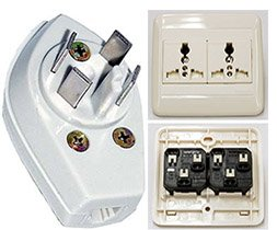 Plug Adapters Extension Cords and Telephone Jacks