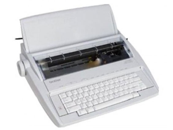 Type Writer 220-240 Volt, 50/60 Hz Brother GX-8250