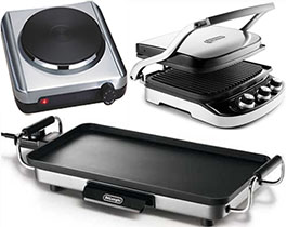 Grills Griddles Hot Plates Skillets